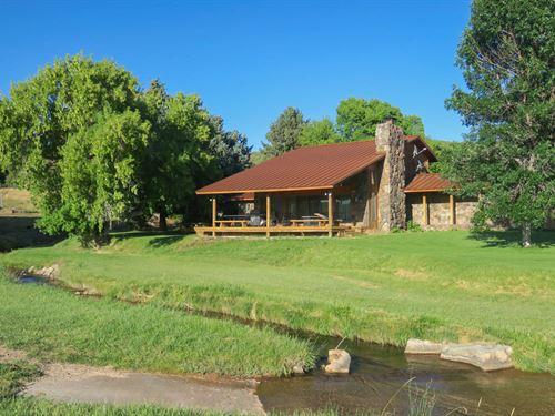 North Fork Ranch : Ten Sleep : Washakie County : Wyoming
