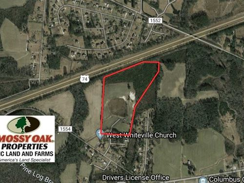 Under Contract, 36.25 Ac of Far : Whiteville : Columbus County : North Carolina
