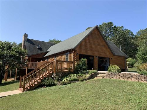Beautiful Custom Log Home With 5 : Galena : Stone County : Missouri