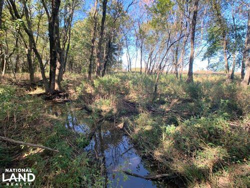 Walnut Farmland & Hunting : Walnut : Crawford County : Kansas