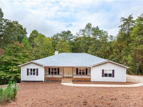 Creekfront Home For Sale in Jasper : Jasper : Pickens County : Georgia