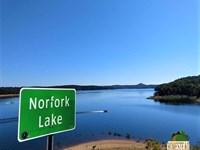 Home Site Near Small Lake Town : Elizabeth : Baxter County : Arkansas