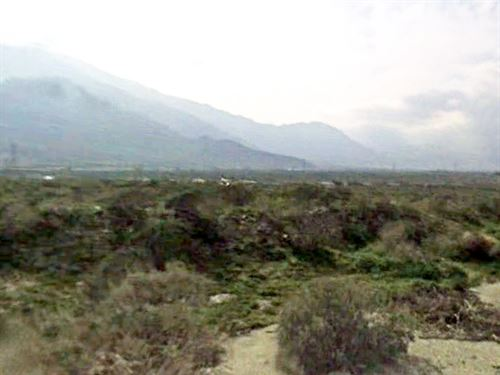 .25 Acre Lot Near Palm Springs : White Water : Riverside County : California