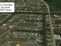 .36 Acre Corner Lot On Paved Road : Port Charlotte : Charlotte County : Florida