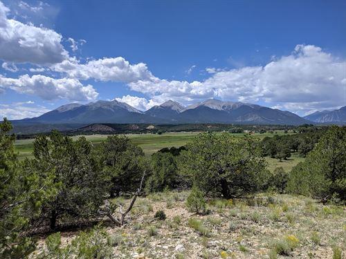 360 Degree Views Colorado Mtns : Nathrop : Chaffee County : Colorado