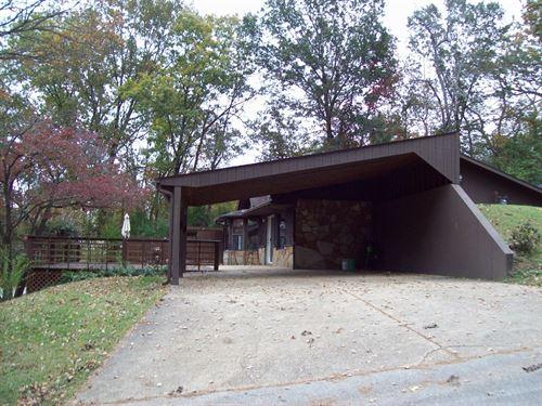 Earth Contact Home Piedmont : Piedmont : Wayne County : Missouri