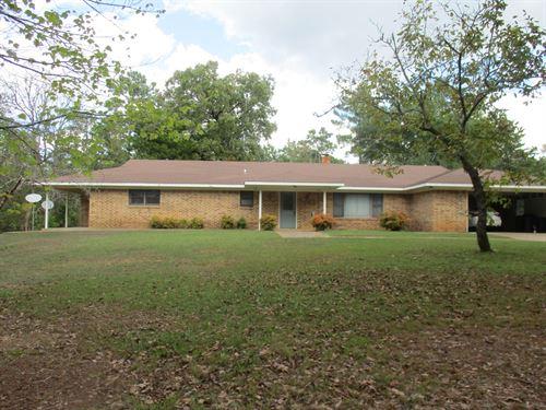 East Texas Home & Acreage For Sale : Jacksonville : Cherokee County : Texas