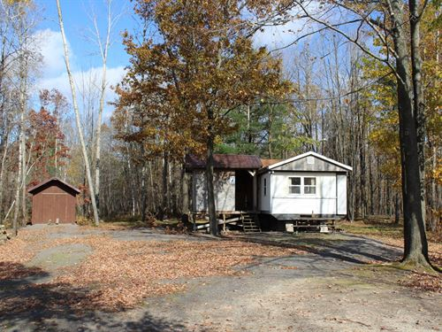 Affordable Turnkey Hunting Camp : Sherwood : Clark County : Wisconsin