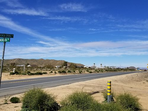 Prime Loc, Power, Water, $330/Mo : Landers : San Bernardino County : California