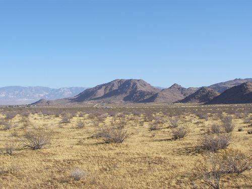 Nice, Minute Off Hwy, Views, $176/M : Lucerne Valley : San Bernardino County : California