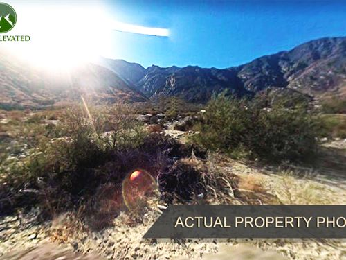 Desert Property Near Water : Cabazon : Riverside County : California