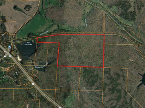97 Acres Along Silver Comet Trail : Rockmart : Polk County : Georgia