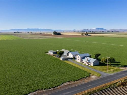 140+ Acre Farm With 4 Bed 2780 Sq : Tulelake : Modoc County : California