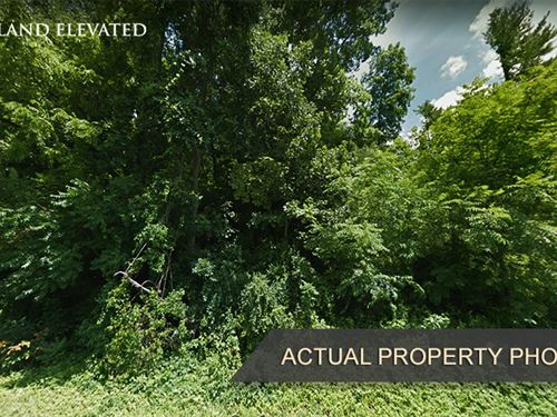.17 Acres Of Hillside Land : Lenoir : Caldwell County : North Carolina