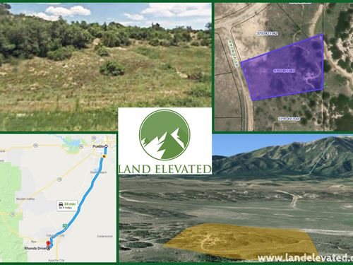 Land For Sale in Colorado City : Colorado City : Pueblo County : Colorado