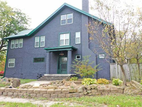 5Br/2.5Ba Home For Sale In Agency : Agency : Wapello County : Iowa