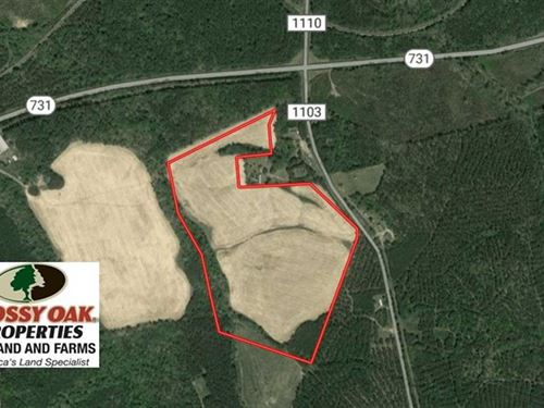 45 Acres of Farm And Residential : Mount Gilead : Montgomery County : North Carolina