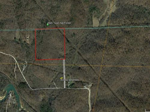 40 Acres For Sale in Butler County : Poplar Bluff : Butler County : Missouri