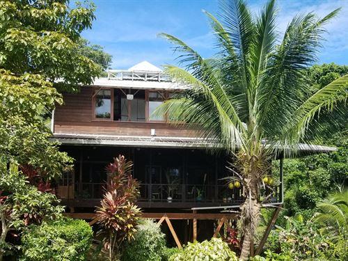 Caribbean Coastal Home Bocas Del : Solarte : Panama