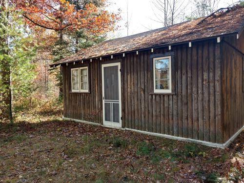 Rustic Log Cabin Crooked Lake : Atlanta : Montmorency County : Michigan