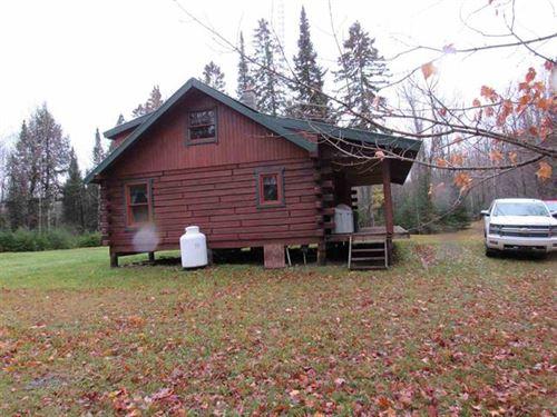 40 Acres Camp Two Bears 1118485 : Amasa : Iron County : Michigan