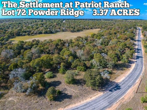 3.37 Acres in Gonzales County : Luling : Gonzales County : Texas