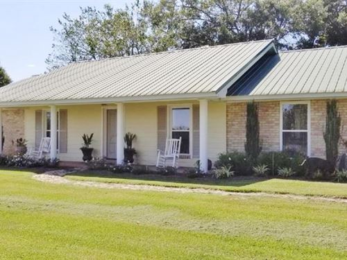 3 Bed/2.5 Bath Home & 11 Acres : Osyka : Pike County : Mississippi