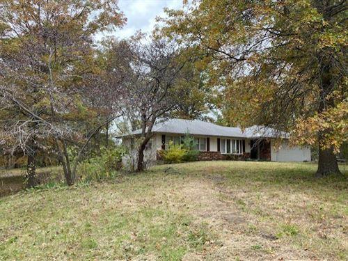 Osborn MO Home & 10 Acres For Sale : Osborn : Dekalb County : Missouri