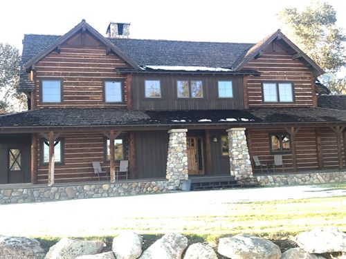 Montana Luxury Cabin : Melrose : Beaverhead County : Montana