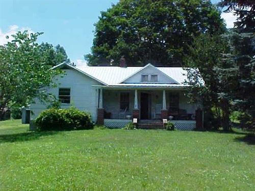 Farm House 38.2 Acres Located : Woolwine : Patrick County : Virginia
