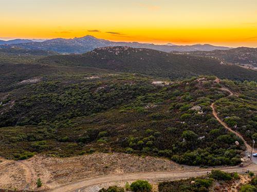 Japatul Valley Acreage : Alpine : San Diego County : California