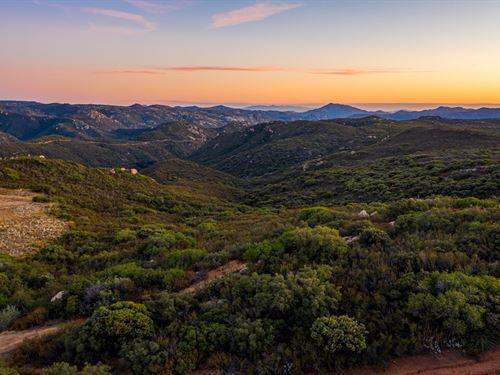 4.2 Acres Japatul Valley : Alpine : San Diego County : California