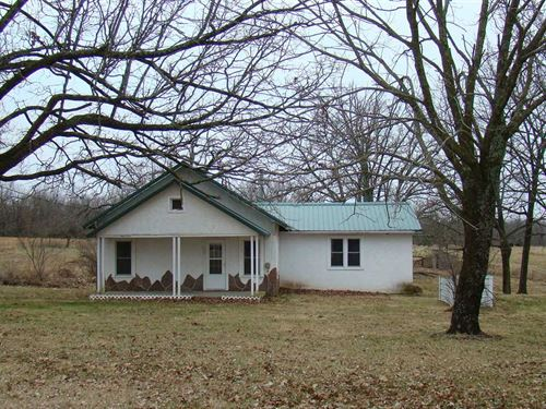 20 Acres With 3 Bedroom 2 Bath Hom : Norwood : Wright County : Missouri