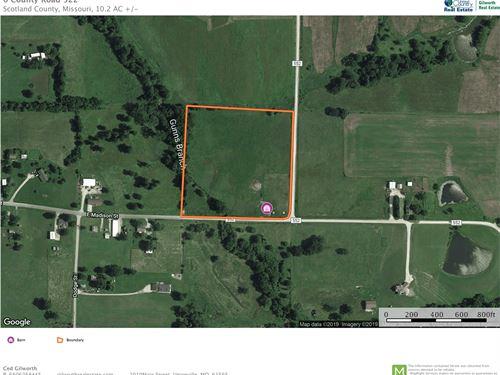 10 Acres Tillable Land Memphis, MO : Memphis : Scotland County : Missouri