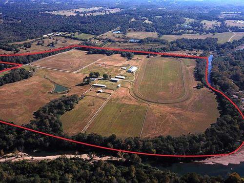 167 Acre Caddo Mead Farm : Glenwood : Pike County : Arkansas
