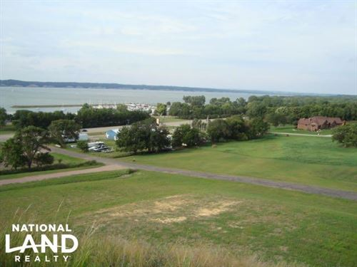Commanding Lot View & Access of Lew : Yankton : South Dakota