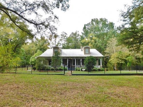 70 Acres Hunting Land 5 Bed/3 Bath : Natchez : Jefferson County : Mississippi