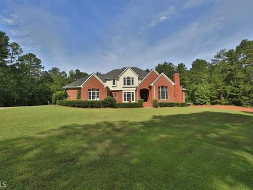 Beautiful Estate on 10 Acres : Eatonton : Putnam County : Georgia
