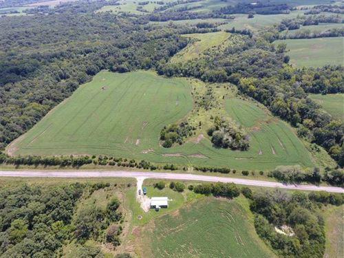 Cropland/Crp/Timber/Hunting Lan : Browning : Linn County : Missouri