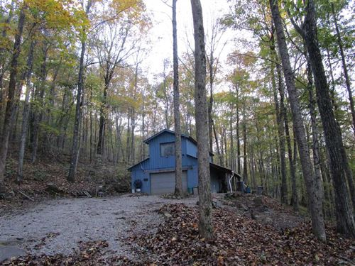 Beautiful 300 Very Private Acres : Sewanee : Marion County : Tennessee