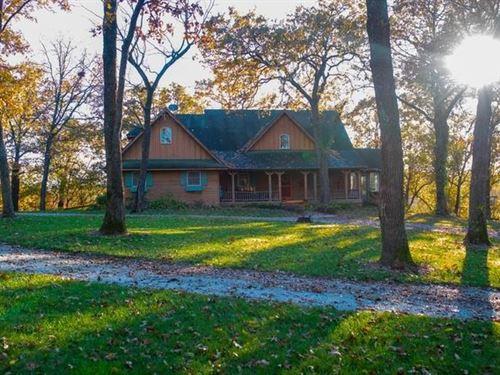 Stunning Country Home 5 Beautiful : El Dorado Springs : Cedar County : Missouri