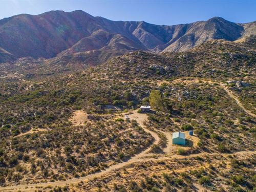 Granite Mountain 187 Acre Ranch : Julian : San Diego County : California