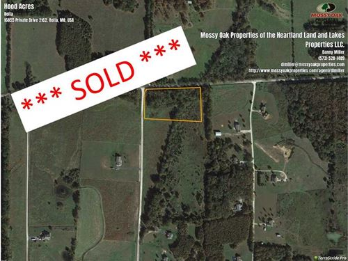 Rural Rolla 3.2 Acre Build Site : Rolla : Phelps County : Missouri