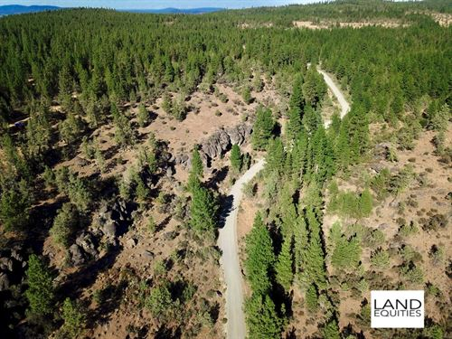 Private Location, Trees & Views : Bonanza : Klamath County : Oregon