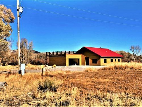 One Level River Access Home : Del Norte : Rio Grande County : Colorado