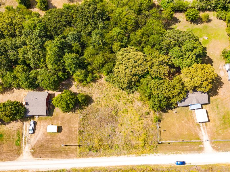 1 Acre Unrestricted 500 Yds to Lake : Navarro : Navarro County : Texas