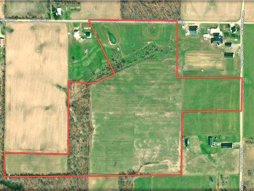 Vacant Farm Land : Mount Gilead : Morrow County : Ohio