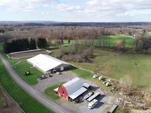 Fairway Farms Equestrian Training : Westmoreland : Oneida County : New York