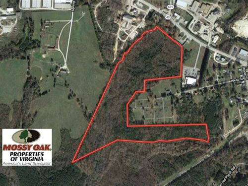 48.6 Ac of Recreational & Commerci : Kenbridge : Lunenburg County : Virginia