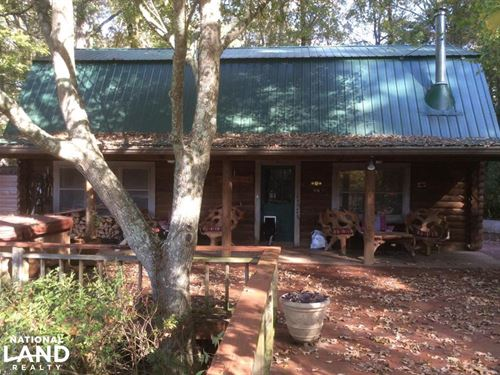Secluded Log Home in The Country : Vicksburg : Warren County : Mississippi